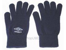 Umbro Rukavice pletené (tmavě modrá) Doplňky