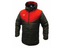 Umbro zimní bunda TEAM PADDED červená Textil - Bundy