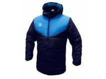 Umbro zimní bunda TEAM PADDED modrá Textil - Bundy