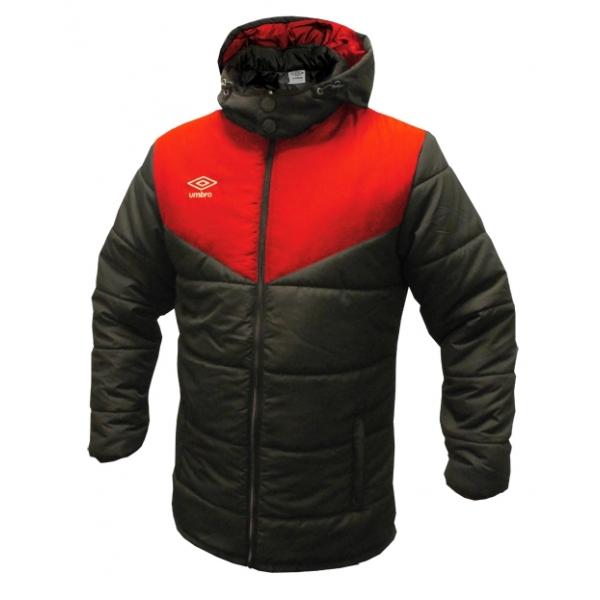 Umbro zimní bunda TEAM PADDED červená - Bundy