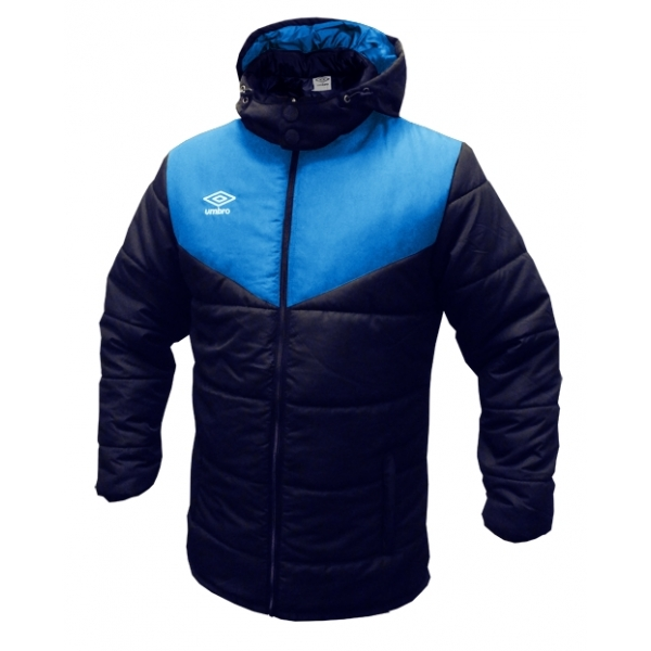 Umbro zimní bunda TEAM PADDED modrá - Bundy