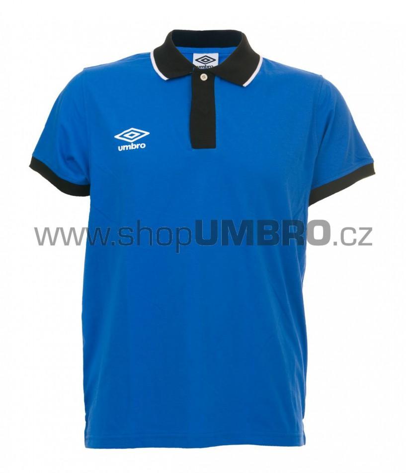 Umbro triko PRIMA POLO modré - Trika