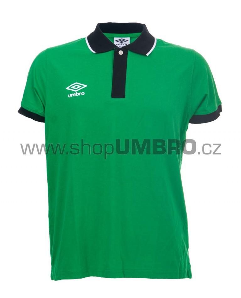 Umbro triko PRIMA POLO zelené - Trika