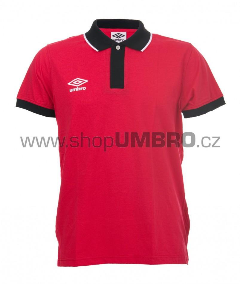 Umbro triko PRIMA POLO červené - Trika