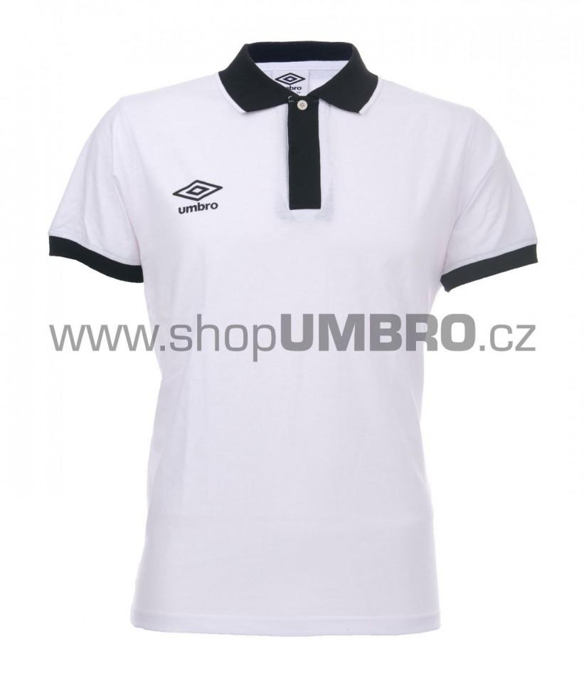 Umbro triko PRIMA POLO bílé - Trika