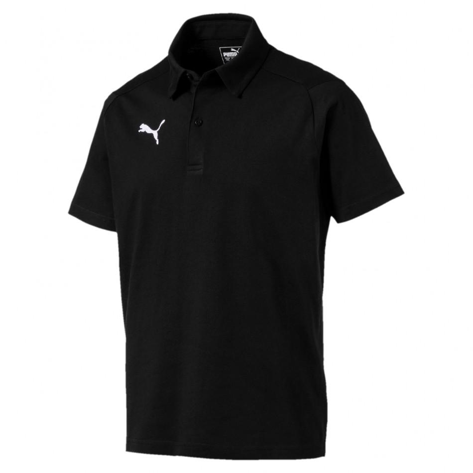 Puma Triko LIGA Casuals Polo černé - PUMA Textil