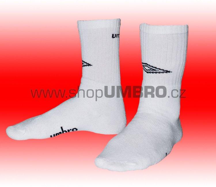 Umbro Ponožky PERFORMANCE 3pack (bílá) - Doplňky
