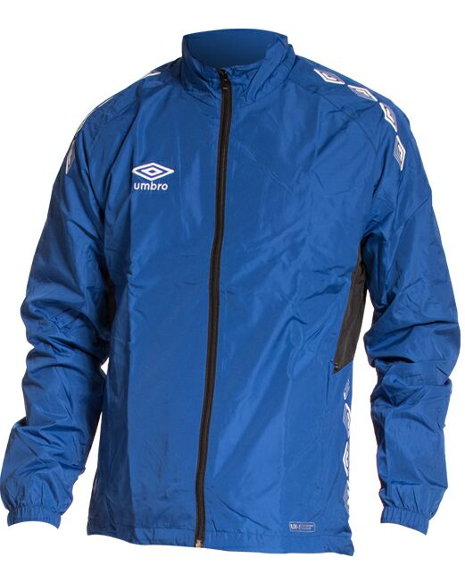 Umbro Bunda UX1 Woven Jacket - modrá/bílá - Bundy