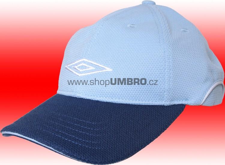 B. Cap HALF PIQUE STRECH (světle modrá) Jr. - Čepice