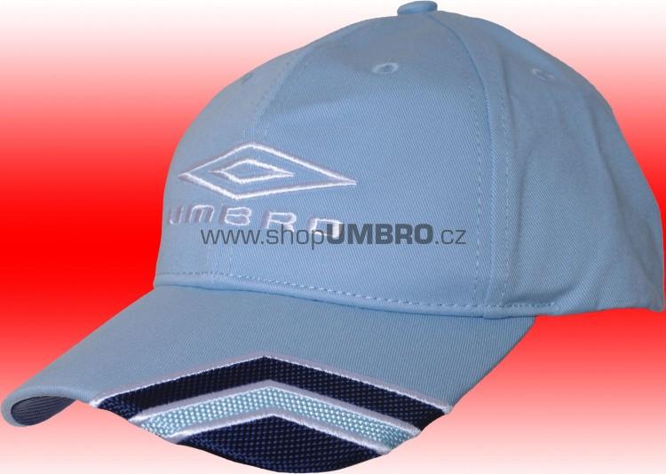 B. Cap HALF DIAMOND Jr. (světle modrá) - Čepice