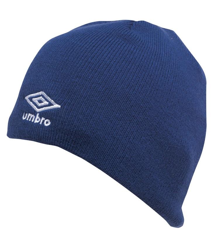Umbro čepice LOGO BEANIE modrá - Čepice