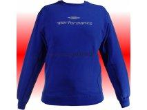 Umbro Mikina PLATO PERFORMANCE (modrá) Textil - Mikiny