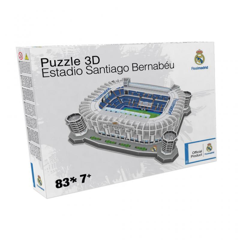 Nanostad BASIC: SPAIN - Santiago Bernabeu (Real Madrid) - Fanshop - Fotbalové 3D stadiony