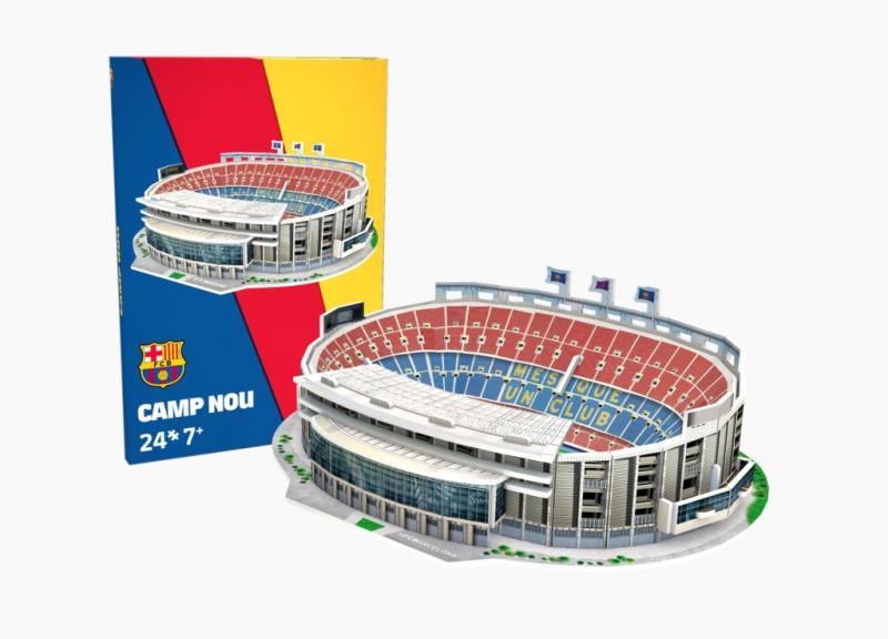 Nanostad MINI: Camp Nou (FC Barcelona) - MINI - Fanshop - Fotbalové 3D stadiony