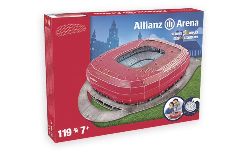 Nanostad: GERMANY - Alianz Arena (Bayern Munchen) - Fanshop - Fotbalové 3D stadiony