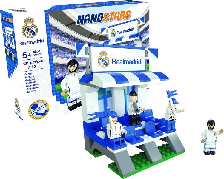 NANOSTARS: Real Madrid - tribuna - Fanshop - Fotbalové 3D stadiony