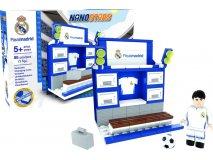 NANOSTARS: Real Madrid - šatna Fanshop - Fotbalové 3D stadiony