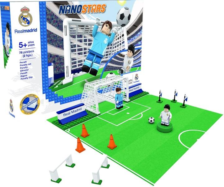 NANOSTARS: Real Madrid - penalty - Fanshop - Fotbalové 3D stadiony