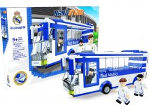 NANOSTARS: Real Madrid - autobus Fanshop - Fotbalové 3D stadiony