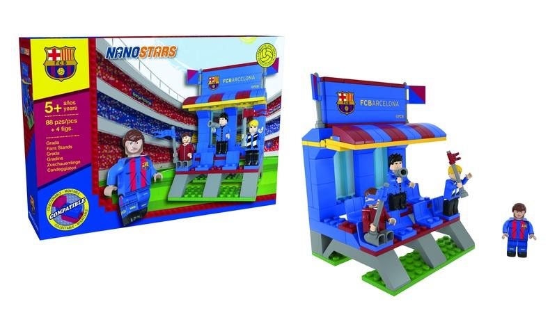 NANOSTARS: FC Barcelona - tribuna - Fanshop - Fotbalové 3D stadiony