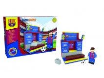 NANOSTARS: FC Barcelona - šatna Fanshop - Fotbalové 3D stadiony