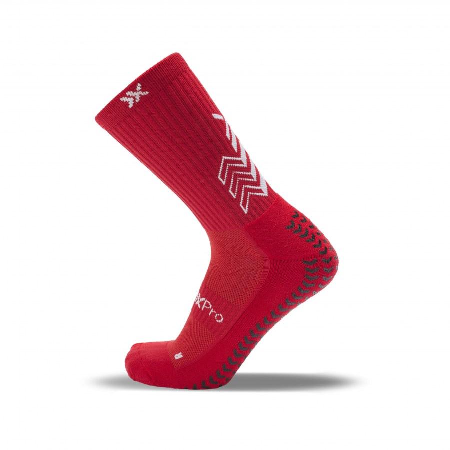 SOX-PRO RED - Protiskluzové ponožky SOX-PRO