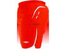 Umbro Trenky ELITE (červená) Textil - Šortky