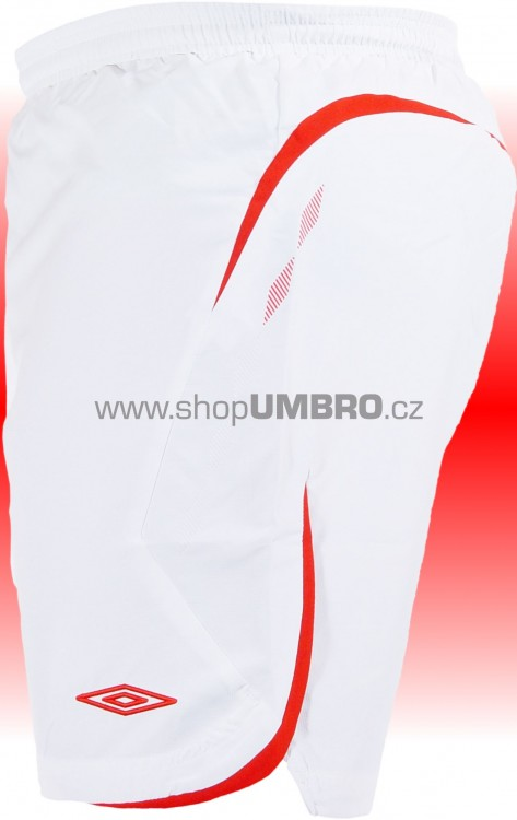 Umbro Trenky ELITE (bílo-červená) - Šortky