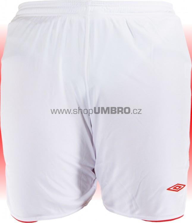 Umbro Trenky PRIMERA -1- (bílo-červená) - Šortky