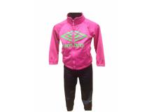 Umbro dětská Souprava CLETO Jr. pink/navy,,CHI Textil - Soupravy