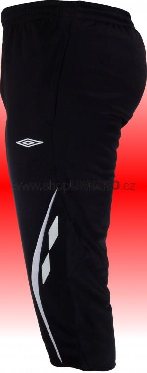 Kalhoty 3/4 TEAM WOVEN -DD- černá - Tepláky