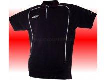 Umbro triko Polo TEAM PIQUE-1- (černá) Textil - Trika