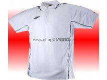 Umbro triko Polo TEAM Poly (bílá) Textil - Trika