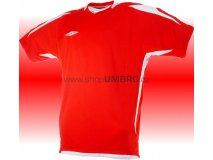 Umbro Tričko TEAM POLY -DD- (červená) Textil - Trika