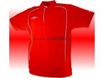 Umbro triko Polo TEAM PIQUE-1- (červená) Textil - Trika