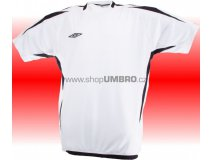Umbro Tričko TEAM POLY -DD- (bílá) Textil - Trika
