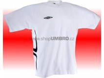 Umbro Tričko TEAM X COTON (bílá) Textil - Trika