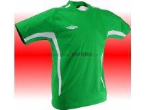 Umbro Tričko TEAM COTTON -DD-(zelená) Textil - Trika