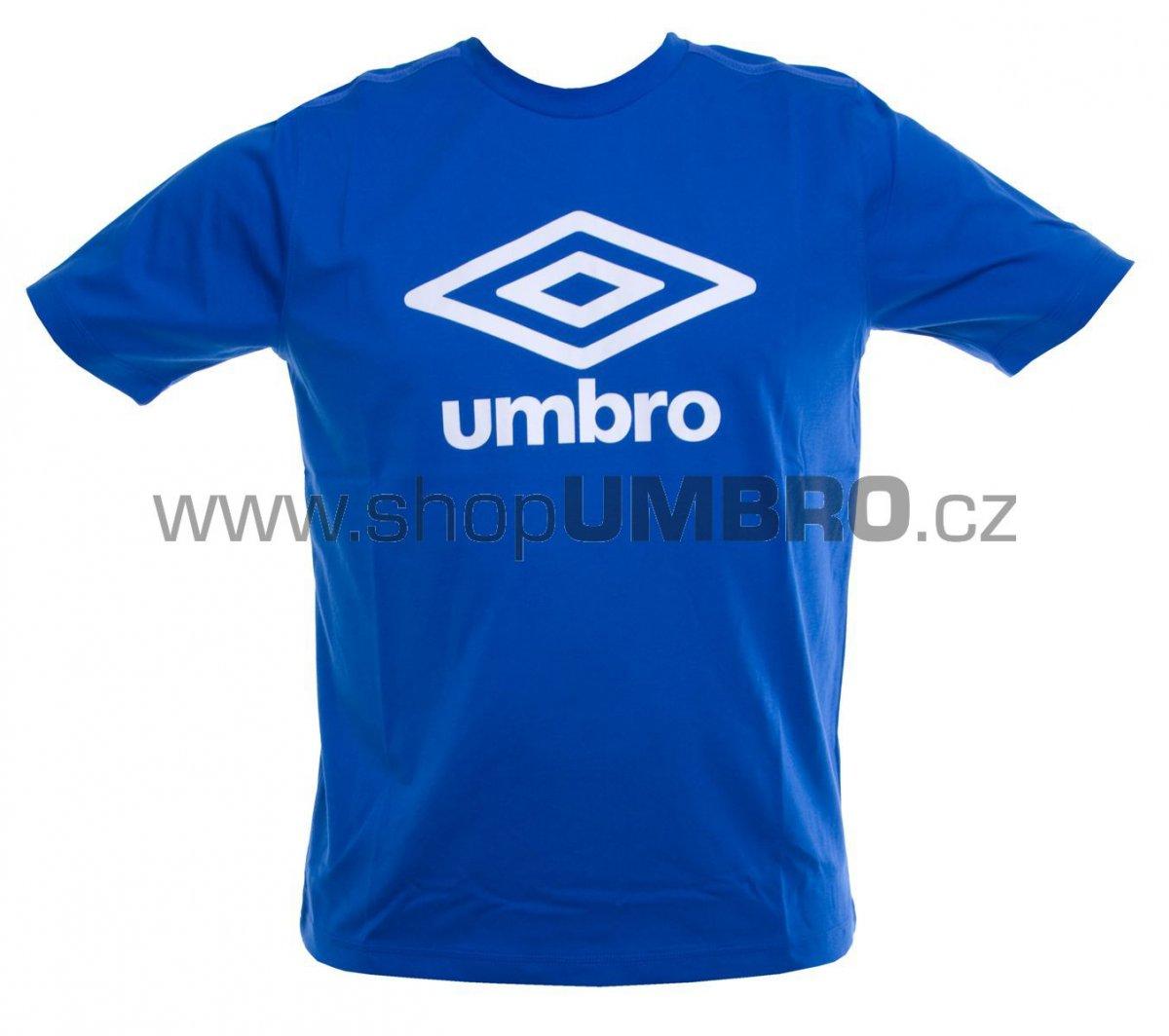 Umbro Triko TRNG FETTES modro-bílé junior - Trika