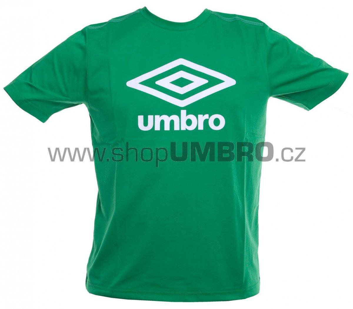Umbro Triko TRNG FETTES zeleno-bílé junior - Trika