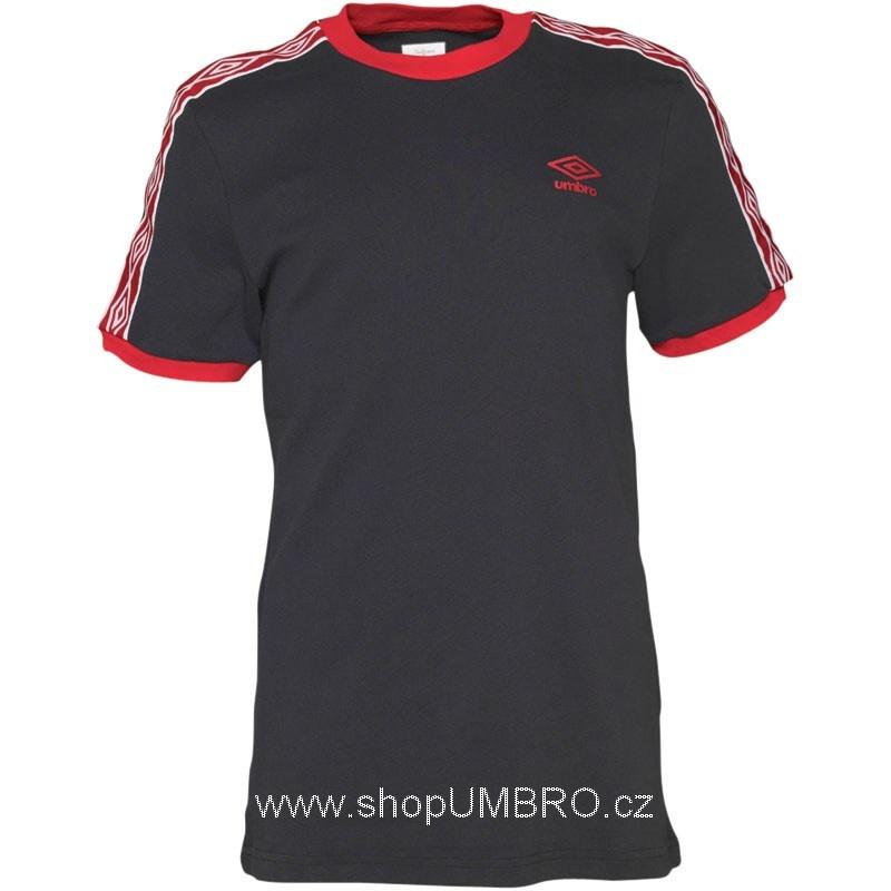 Umbro triko DIAMOND I. Taped černo-červené - Trika