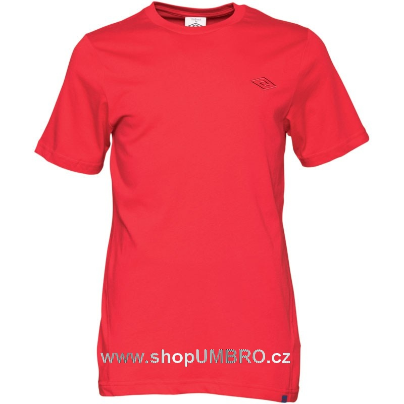 Umbro triko CREW TEE červené - Trika