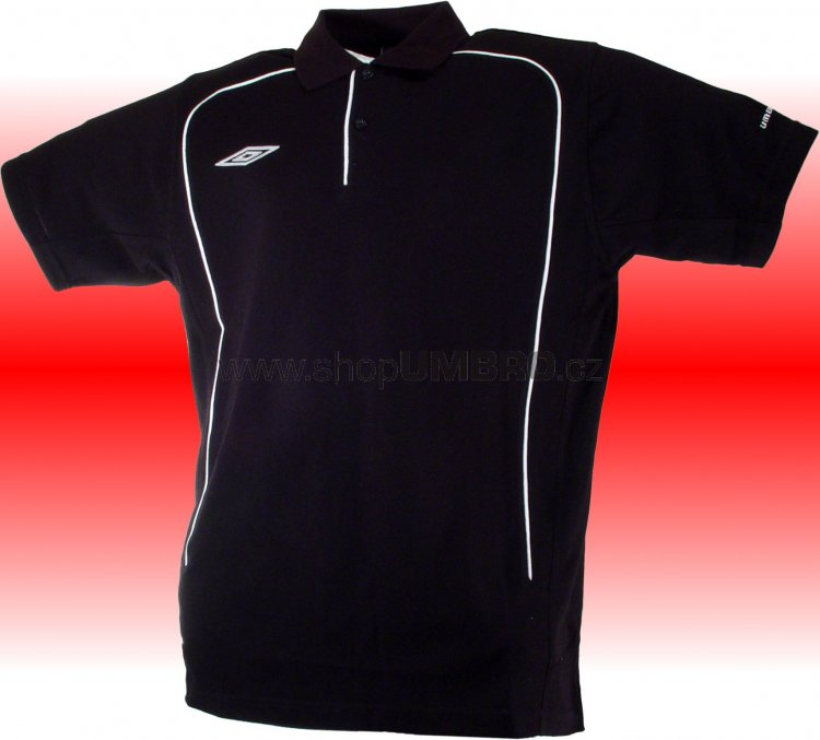 Umbro triko Polo TEAM PIQUE-1- (černá) - Trika
