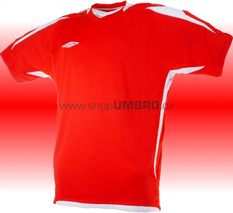 Umbro Tričko TEAM POLY -DD- (červená) - Trika