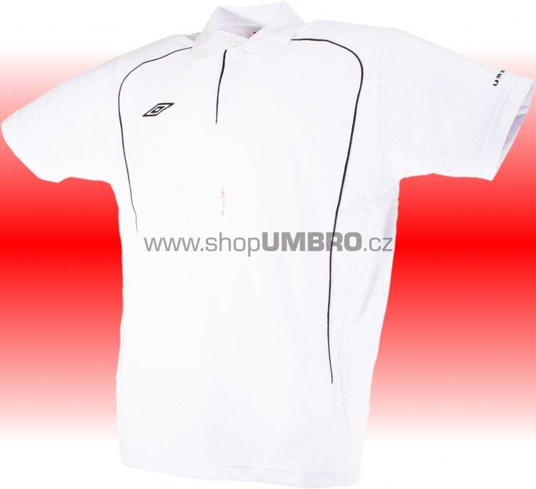 Umbro triko Polo TEAM PIQUE-1- (bílá) - Trika