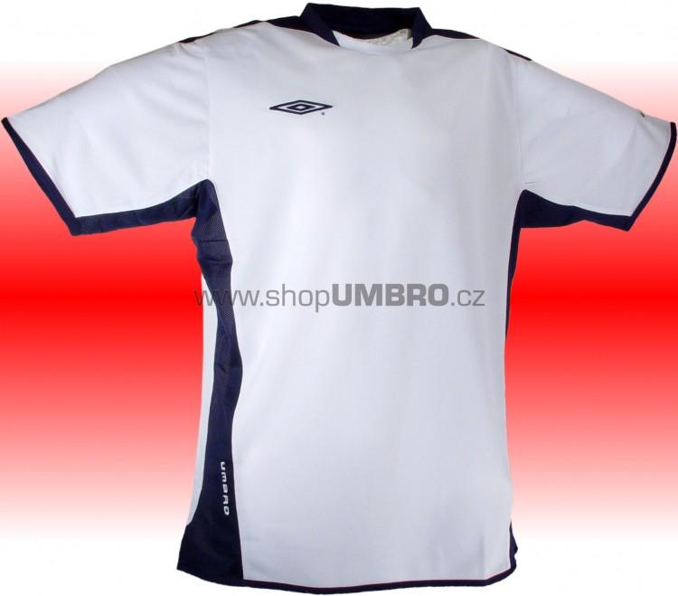 Umbro triko TRAINING POLY (bílo-modrá) - Trika