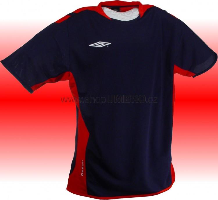 Umbro triko TRAINING POLY (modro-červená) - Trika