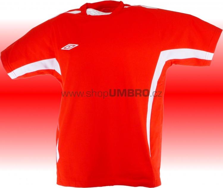 Umbro Tričko TEAM COTTON -DD-(červená) - Trika