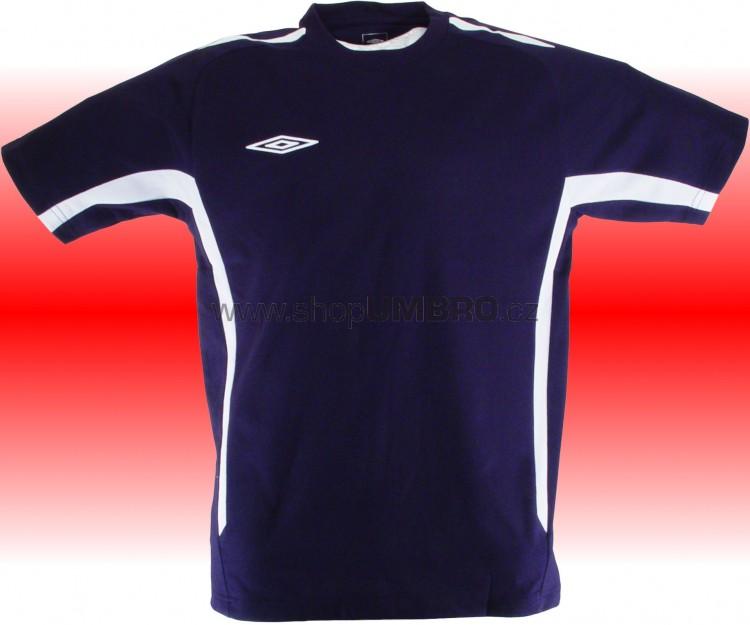 Umbro Tričko TEAM COTTON -DD-(tmavě modrá) - Trika