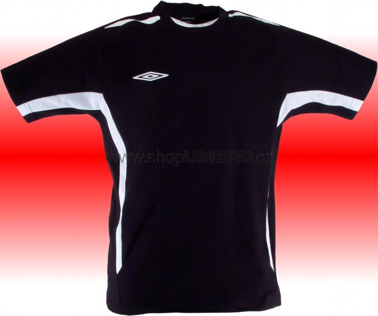 Umbro Tričko TEAM COTTON -DD-(černá) - Trika